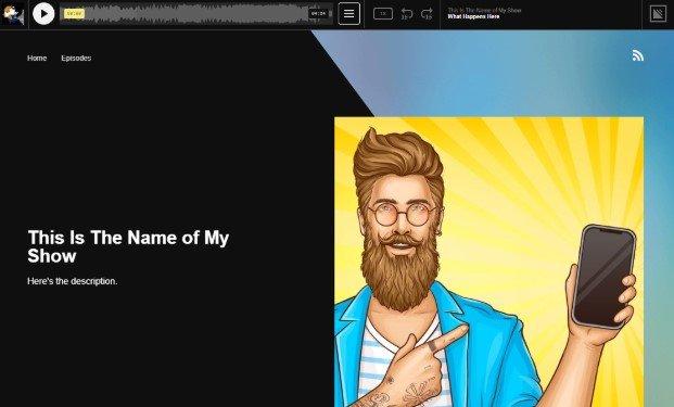 Simplecast Builtin Website