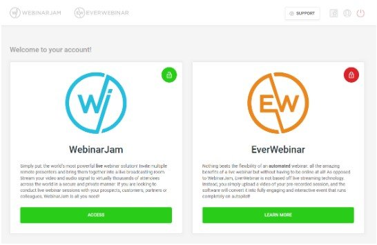 WebinarJam Get Started