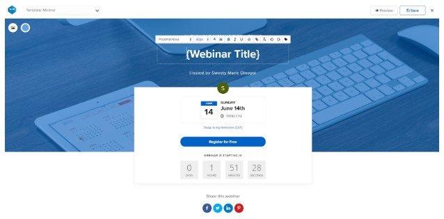 WebinarNinja Register