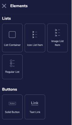Button Elements