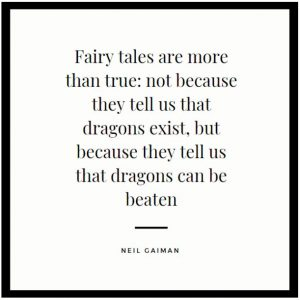 Fairy Tales Motivational Quote