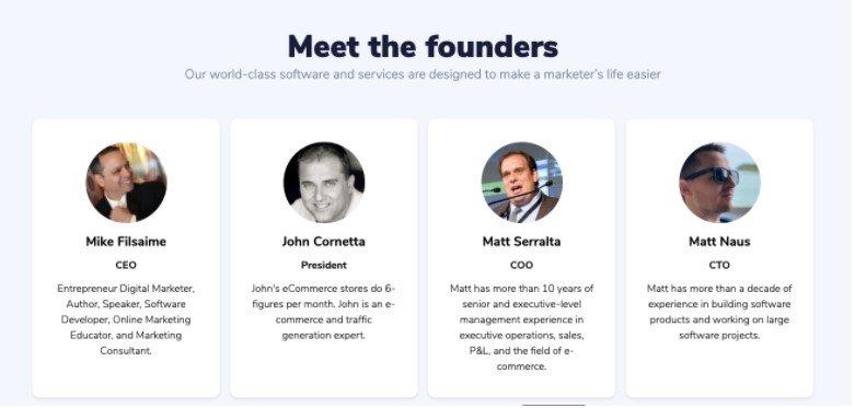 Meet Founders
