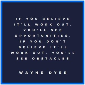 One of the Inspirational Motivational Quotes about believing