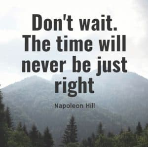 One of the Inspirational Quotes about time