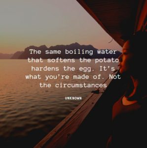 One of the Motivational Quotes about circumstances