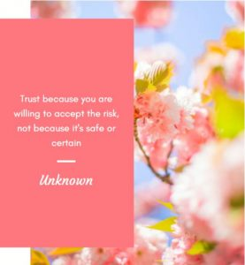 One of the Motivational Quotes about trust
