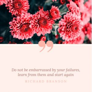 Quote about failures