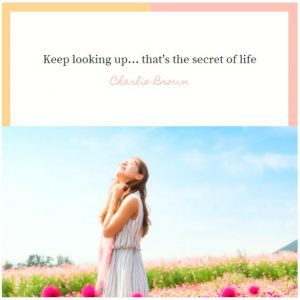 Secret of life quote