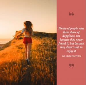 Share of happiness quote