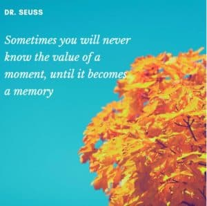 Value A Moment Motivational Quote