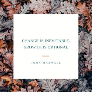 motivational quote about change and growth