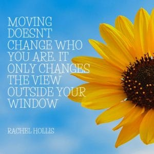 motivational quote about moving