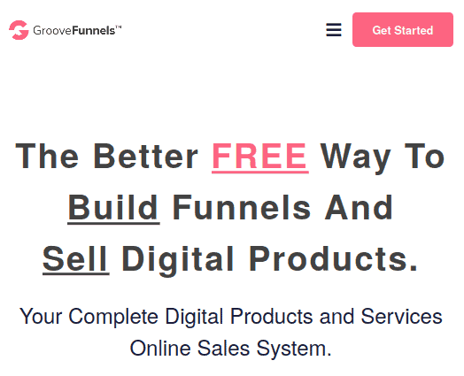 groove funnels home page