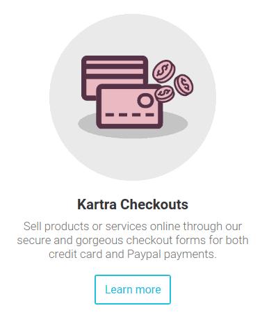 kartra checkouts