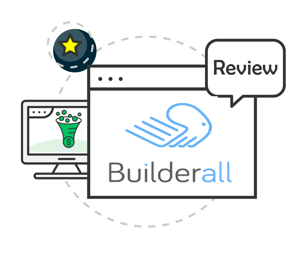 Builderall Review Pricing White Imaage