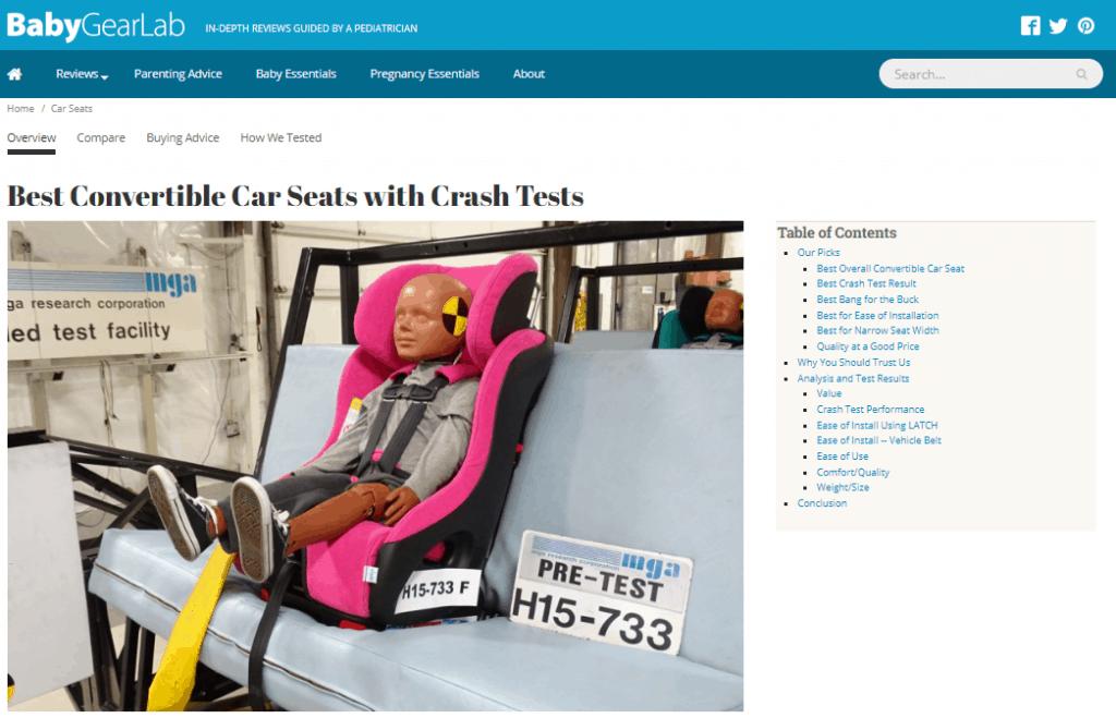Baby Gear Top Generating
