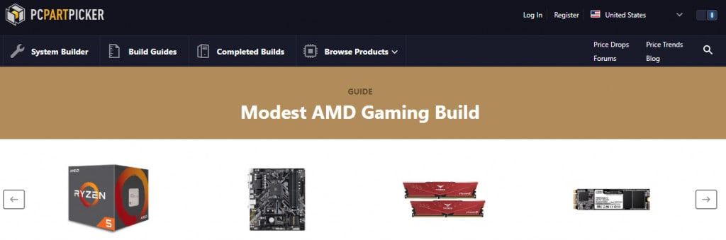 PC Part Maker Top Informational