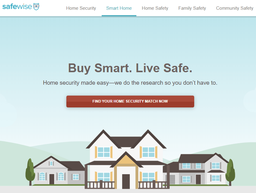 Safe Wise Website Page