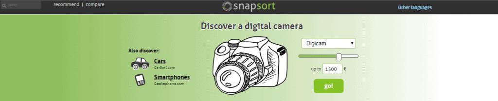 Snap Sort Website Page