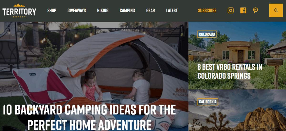 Territory Supply Website