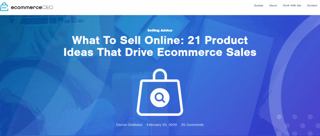 eCommerce CEO Top Informational