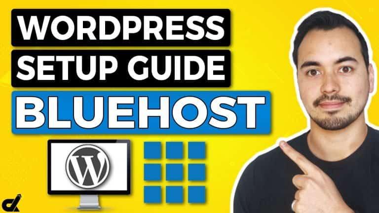 Bluehost WordPress Tutorial 2020 Beginners Web Hosting Setup Guide