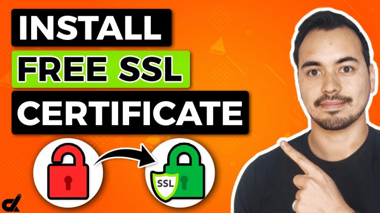 Install A Free SSL Certificate