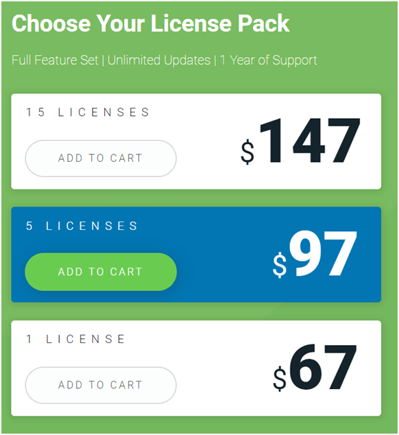 Thrive Leads License Pack