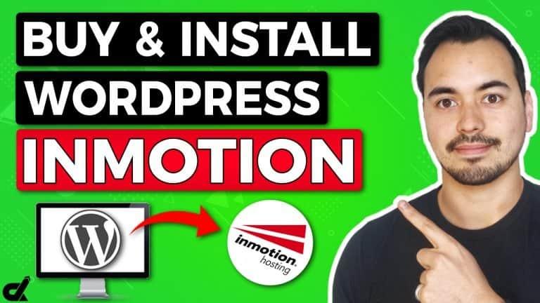 install wordpress on inmotion