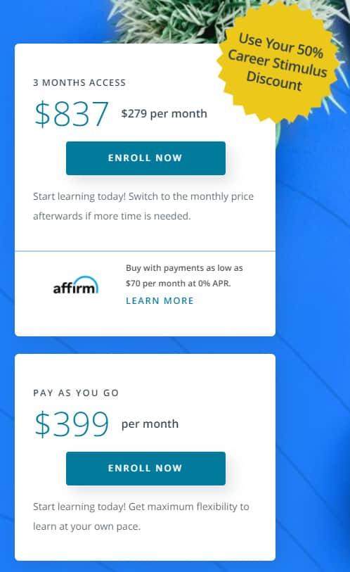 Udacity Pricing