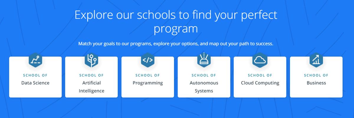 udacity school programs