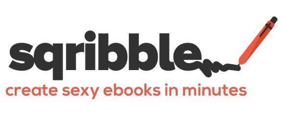 sqribble logo vertical